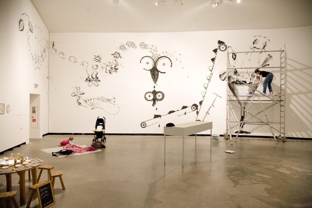 Atelier + Küche – Labore der Sinne, Sonja Alhäuser, Marta Herford, 2012