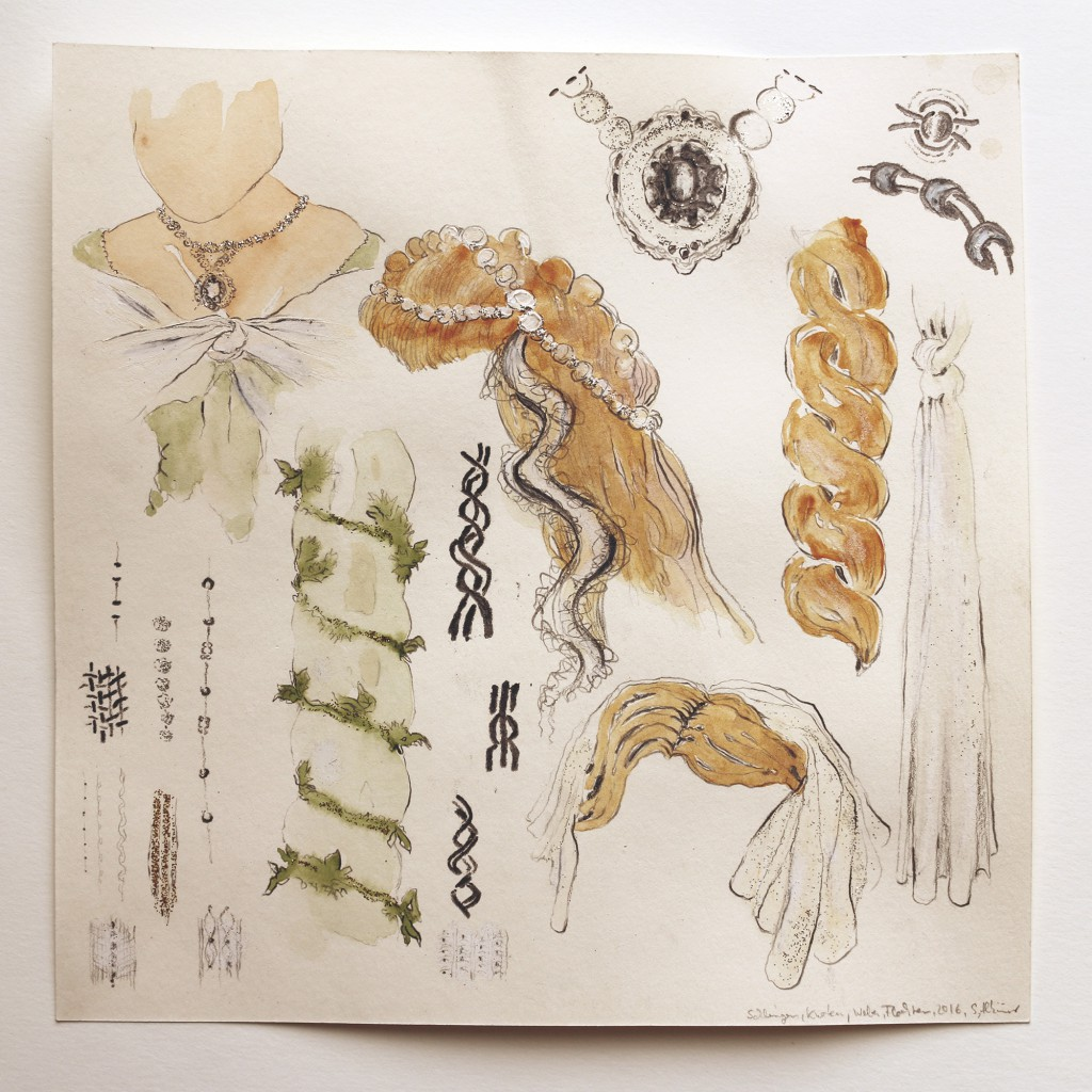 Homage an Agathe – Schlingen Knoten Weben Flechten